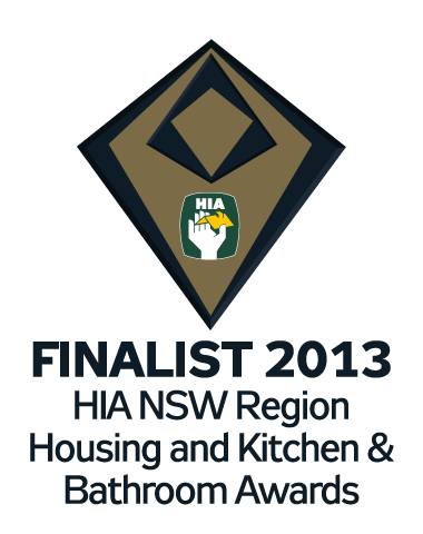 NSW Housing Awards Finalist 2013 Housing and Kitchen and Bathroom