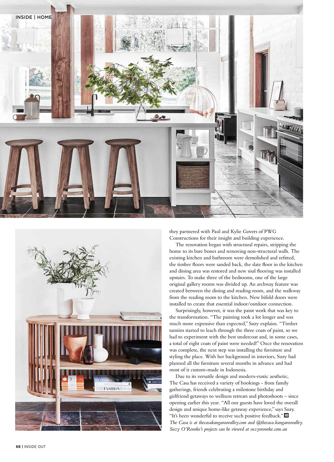 The Casa – Inside Out magazine